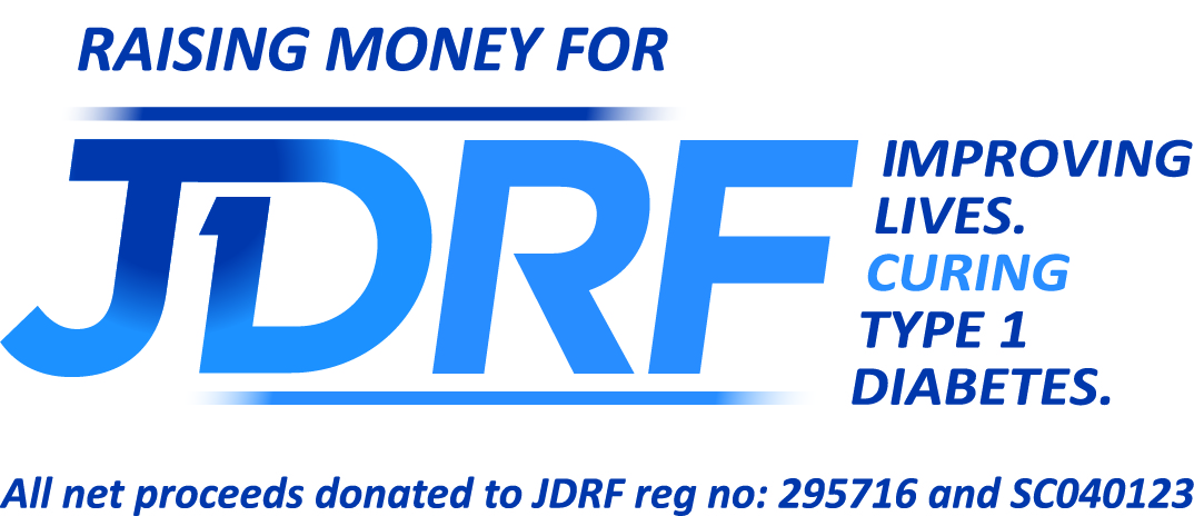raising money for JDRF