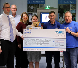 Supporting the JDRF Diabetes Charity