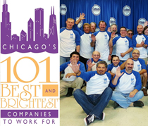 Chicago's Brightest Companies to Work for 2013 Winners