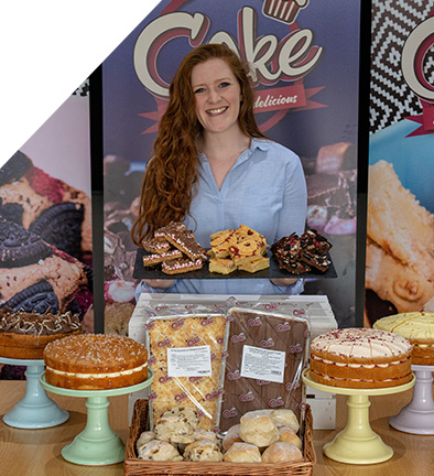 Lauren Ingram, Bakery Manager of Cake (Lomond Foods)
